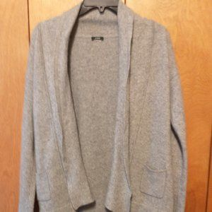 J. Crew Wool Knit Blend Open Cardigan- Small